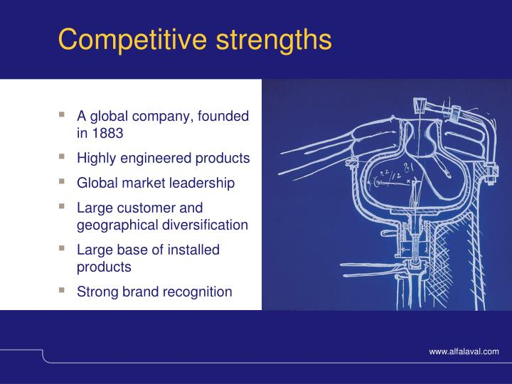 Competitive strengths