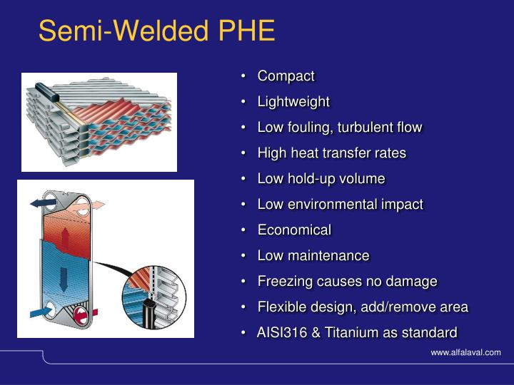 Semi-Welded PHE