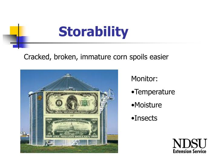 Storability