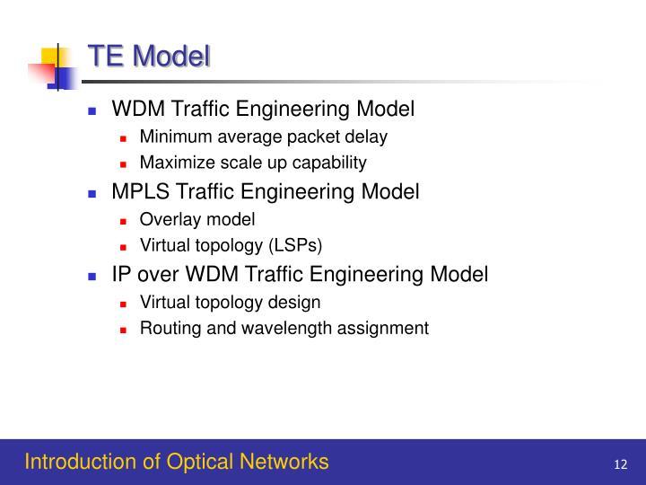 TE Model