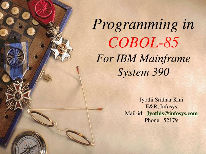 Cobol 85 for programmers investment scalping techniques in forex
