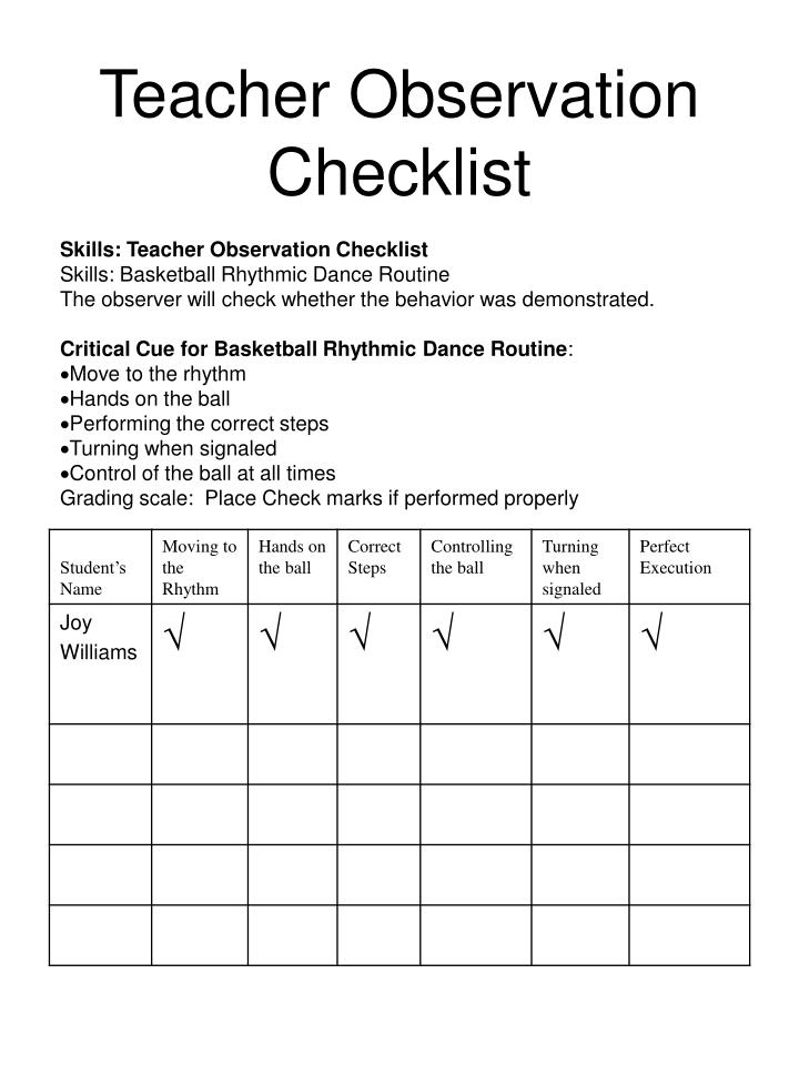 physical inventory observation checklist The psychometric properties, environmental content, and effectiveness of the harms and clifford infant/toddler environment rating scale, the home observation for measurement of the environment inventory, the profile for early childhood programs, and the purdue home stimulation inventory are discussed.