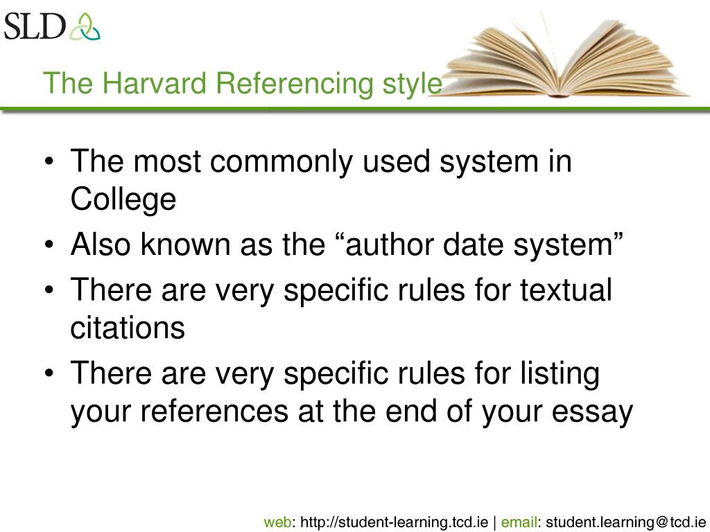 Can you use ie in an essay harvard