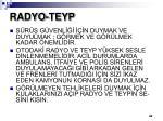 radyo teyp