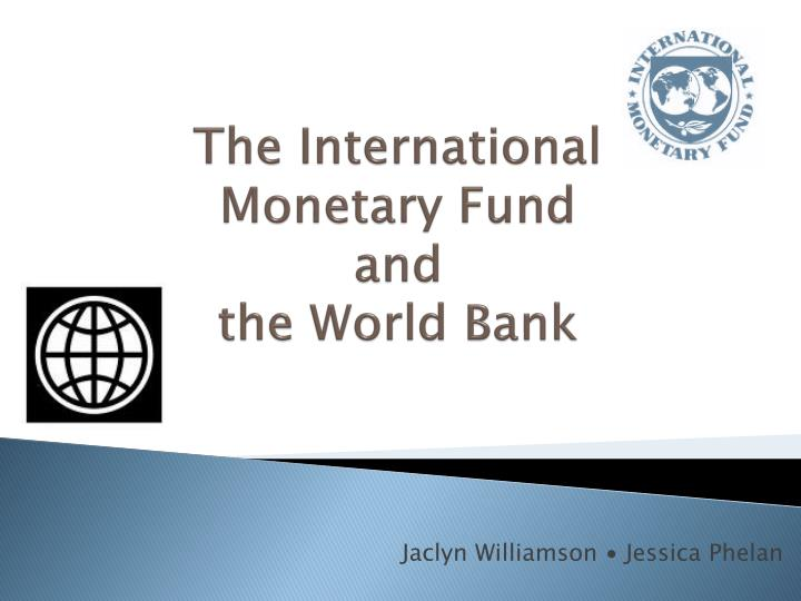 the establishment of the international monetary fun and its organization International monetary fund and world issue brief is designed to help you understand the history  as a proposed international trade organization.
