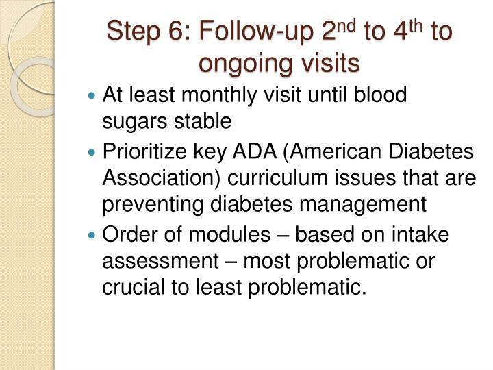 Step 6: Follow-up 2