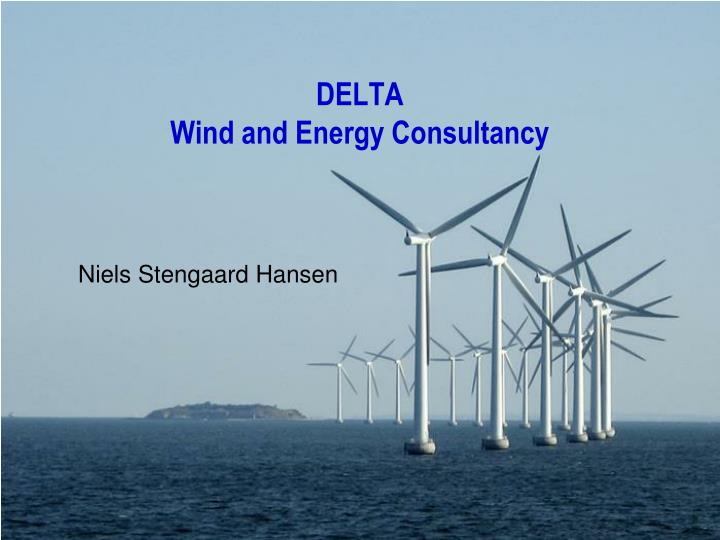 delta wind and energy consultancy n.