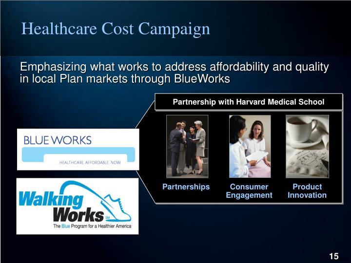 Healthcare Cost Campaign