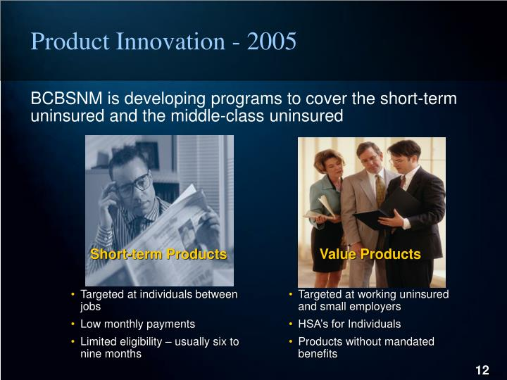 Product Innovation - 2005