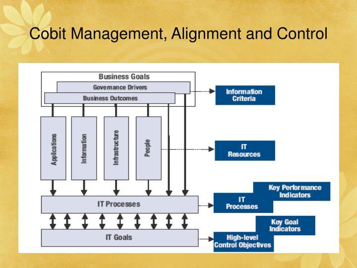 Cobit Management, Alignment and Control