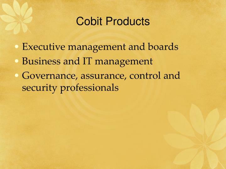 Cobit Products