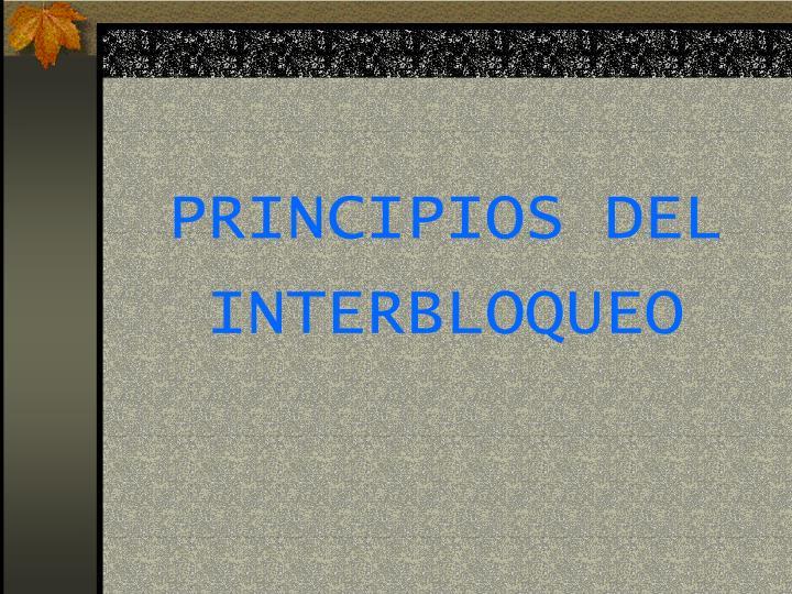 PRINCIPIOS DEL