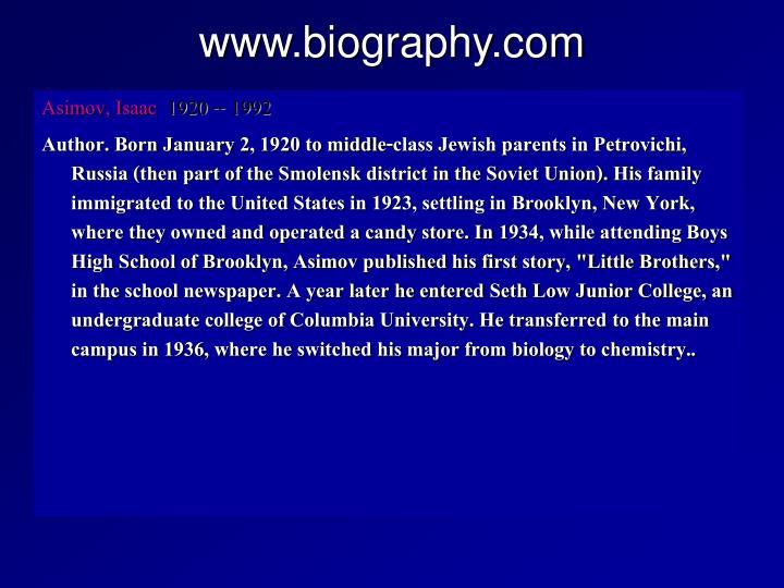 www.biography.com