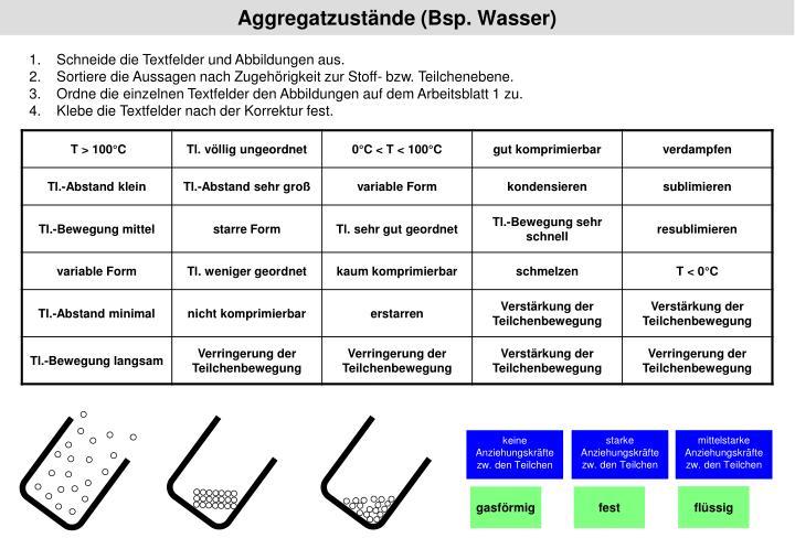 PPT - Aggregatzustände (Bsp. Wasser) PowerPoint Presentation - ID:967486