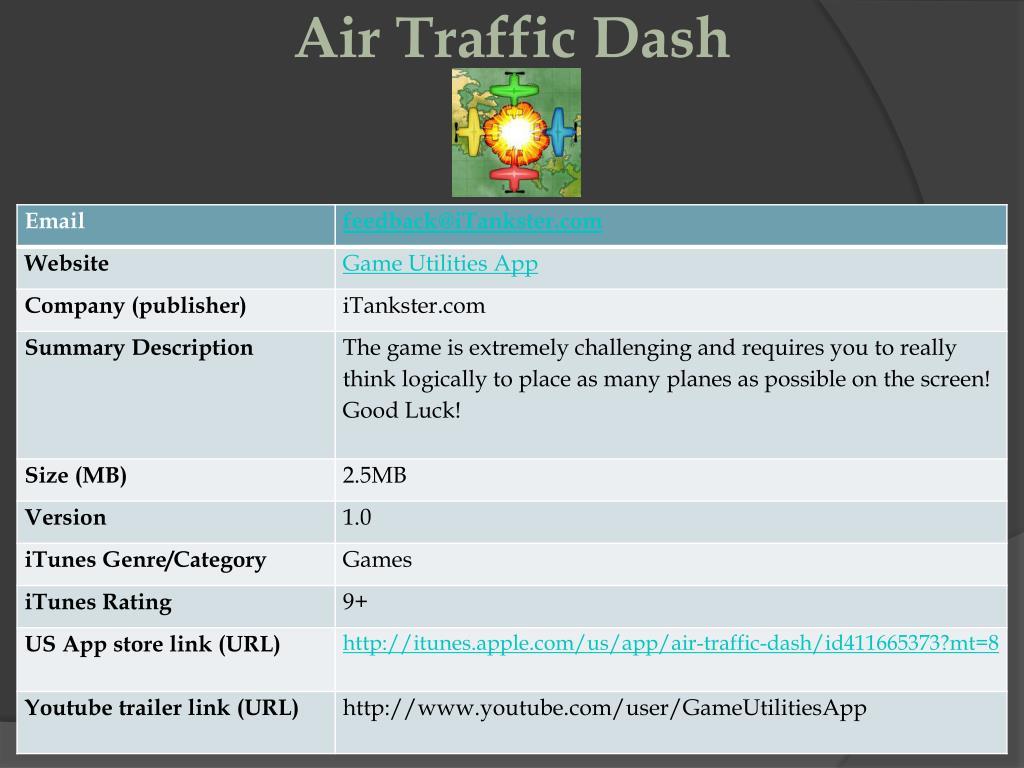 air traffic dash l.