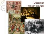 dissection through the ages