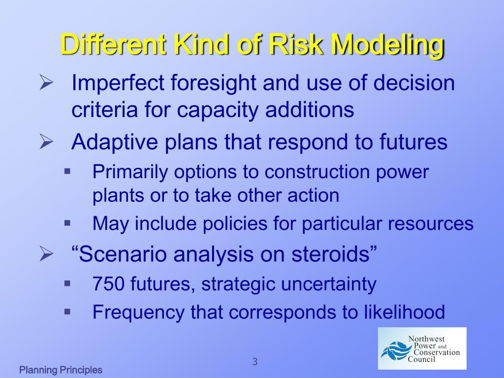Different Kind of Risk Modeling