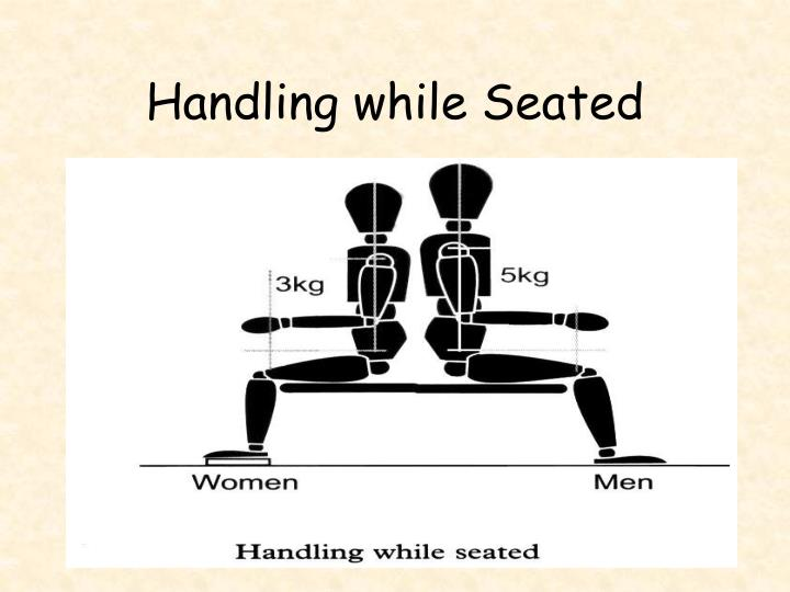 Handling while Seated