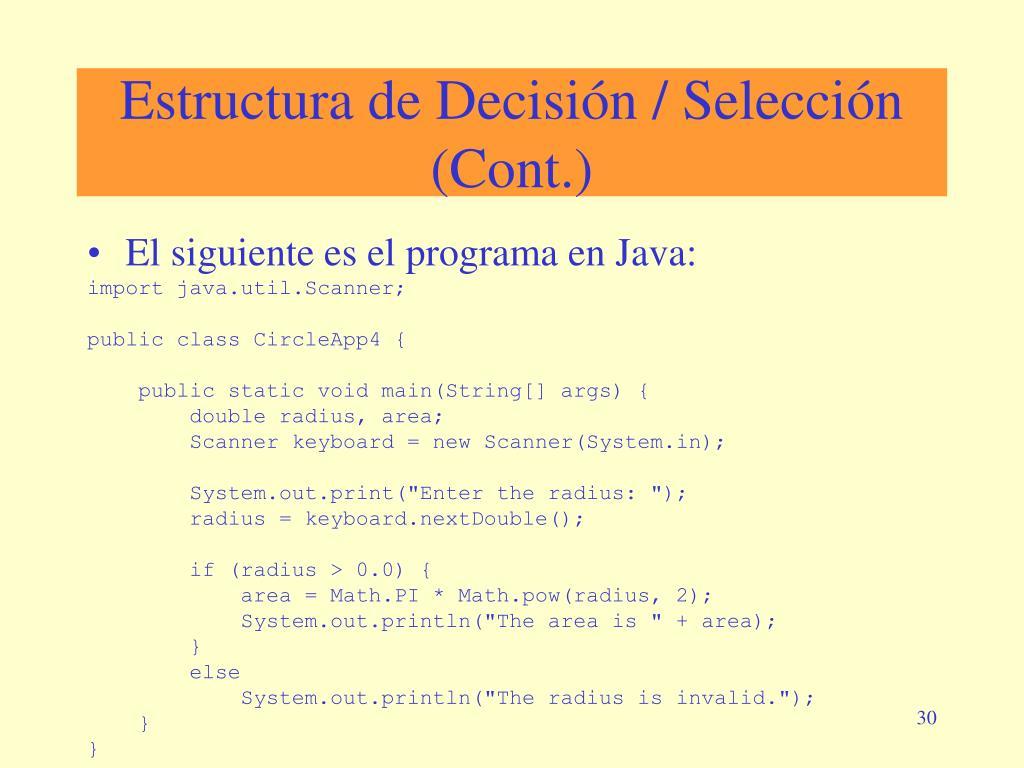 Ppt Diseño Estructurado De Programas Parte I Powerpoint