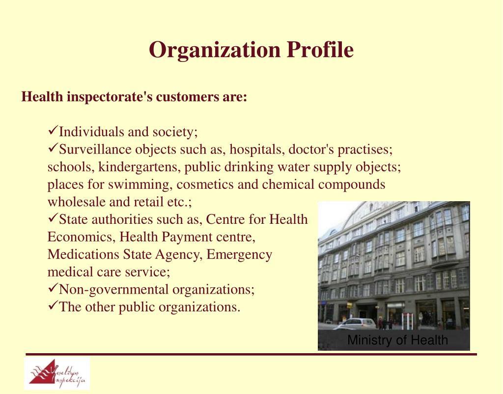 Organization Profile