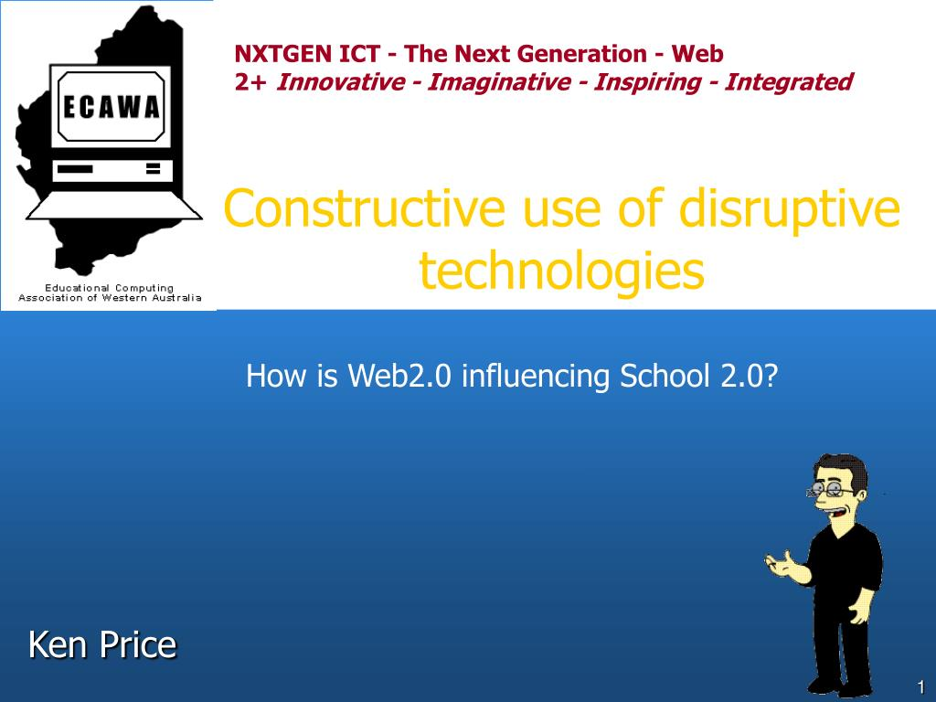 constructive use of disruptive technologies