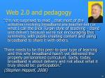 web 2 0 and pedagogy