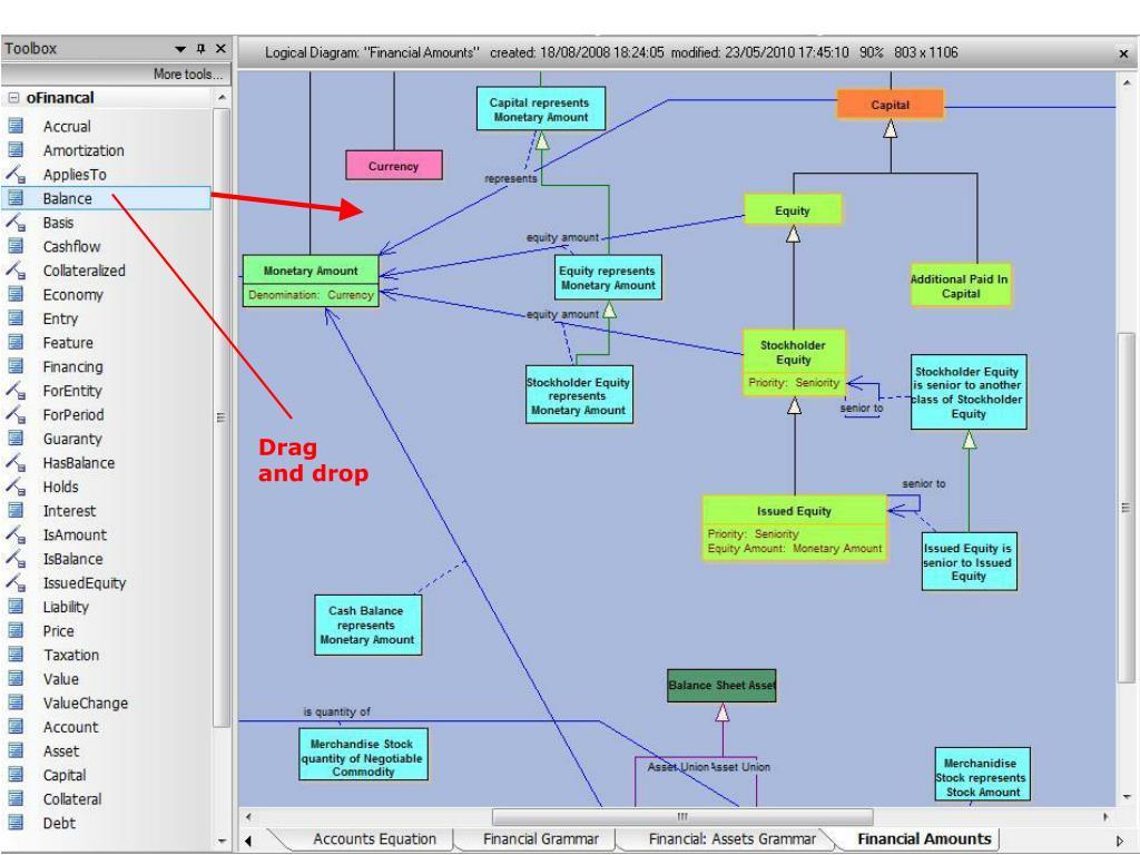 Toolbar screenshot (Accounting)
