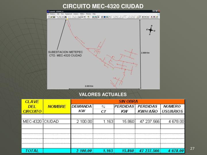 CIRCUITO MEC-4320 CIUDAD