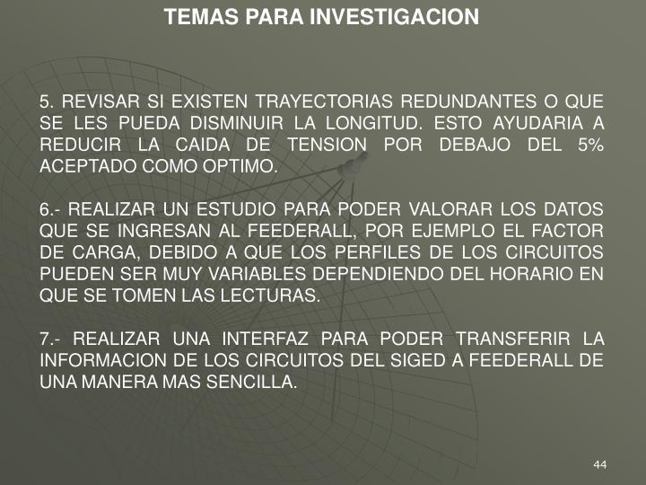 TEMAS PARA INVESTIGACION