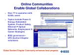 online communities enable global collaborations