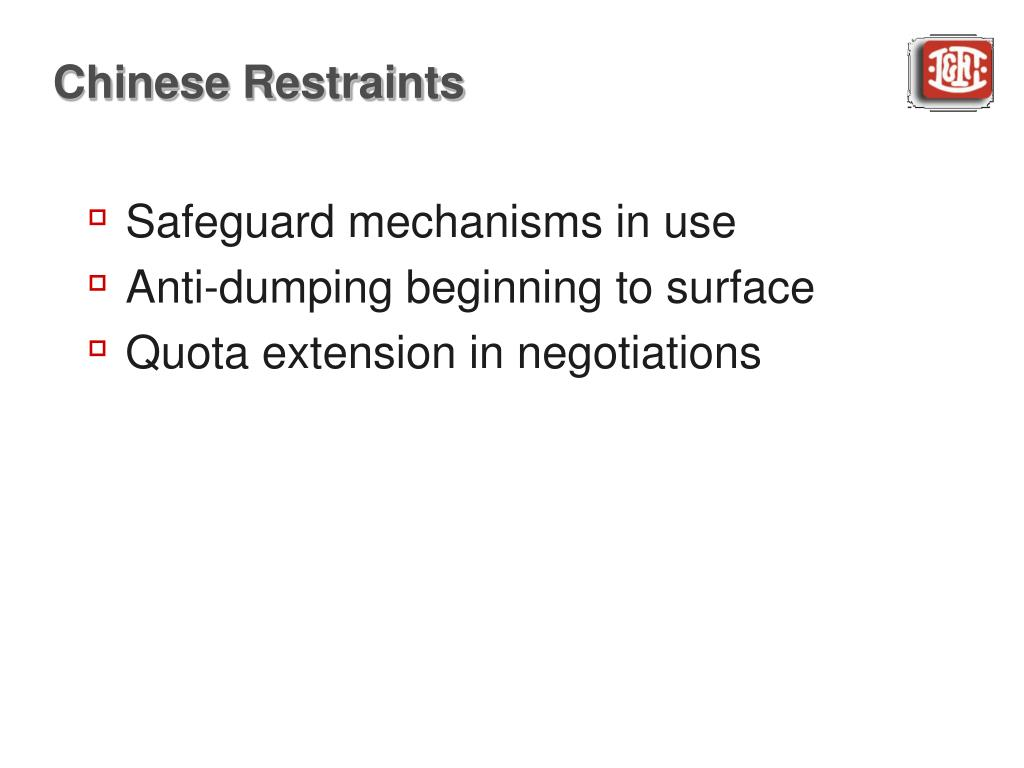 Chinese Restraints