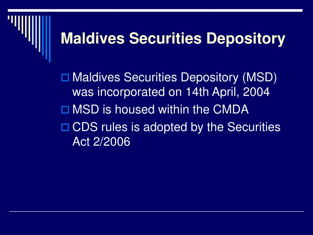 Maldives Securities Depository