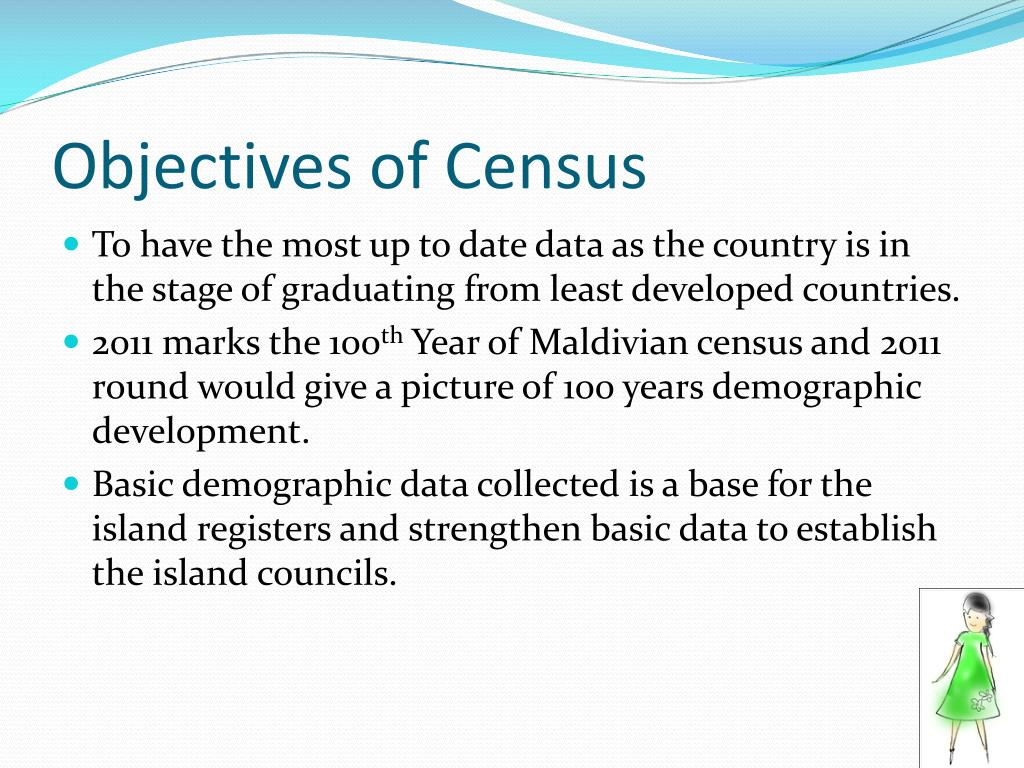 Objectives of Census