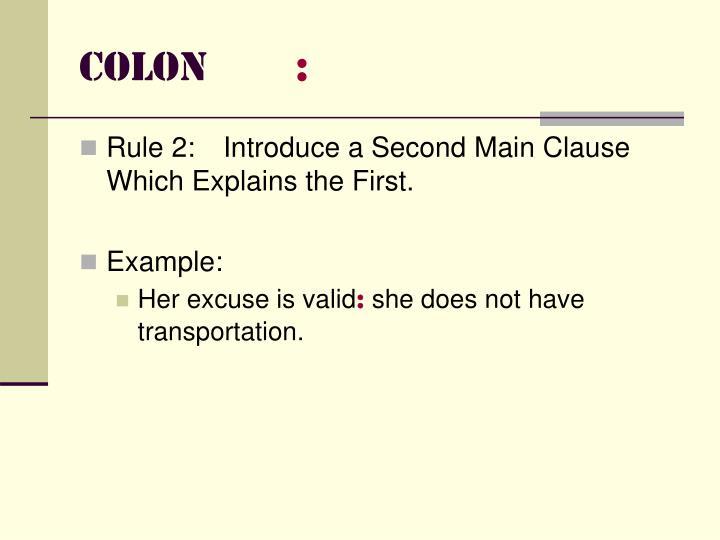 Colon1