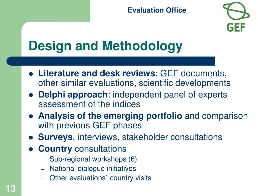 Design and Methodology