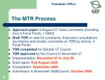the mtr process