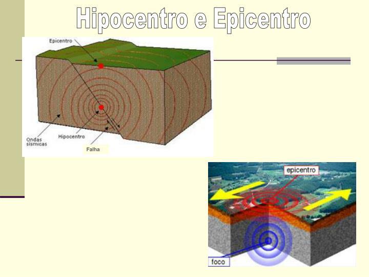 Hipocentro e Epicentro