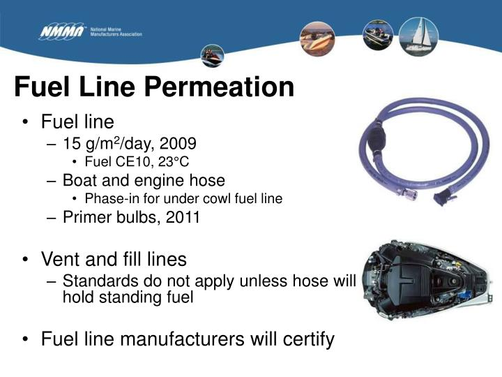Fuel Line Permeation