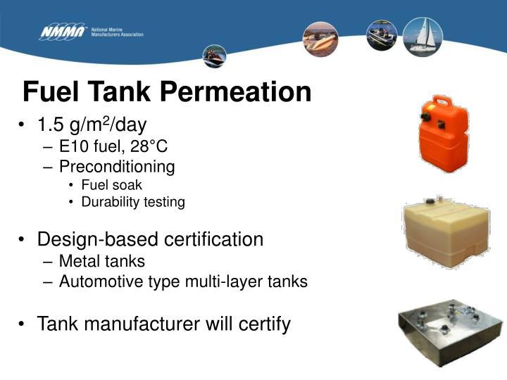 Fuel Tank Permeation