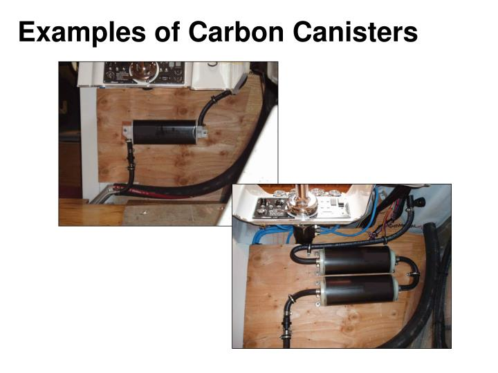 Examples of Carbon Canisters