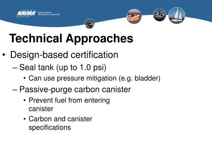 Design-based certification