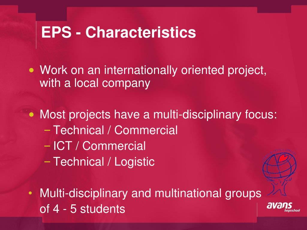 EPS - Characteristics