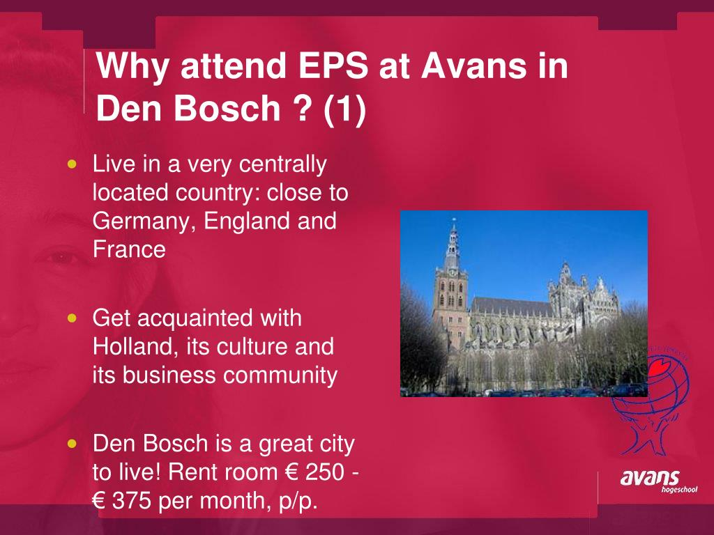 Why attend EPS at Avans in
