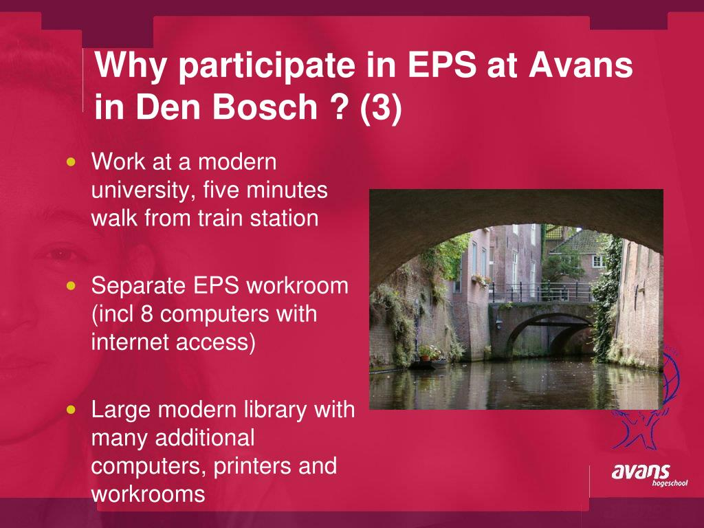 Why participate in EPS at Avans