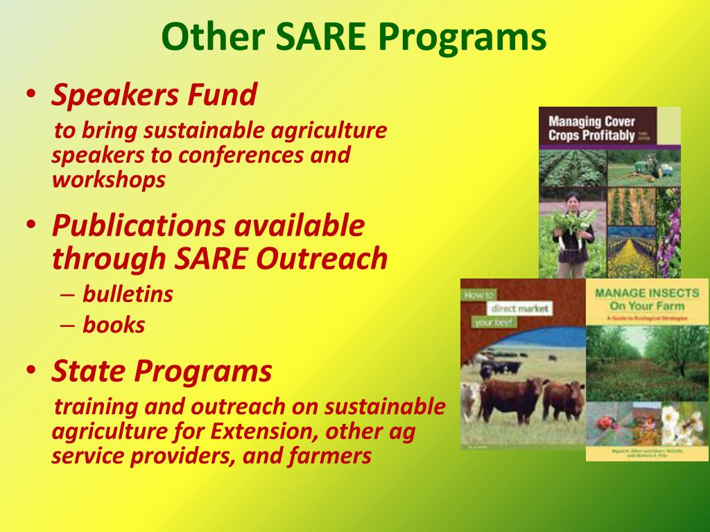 Other SARE Programs