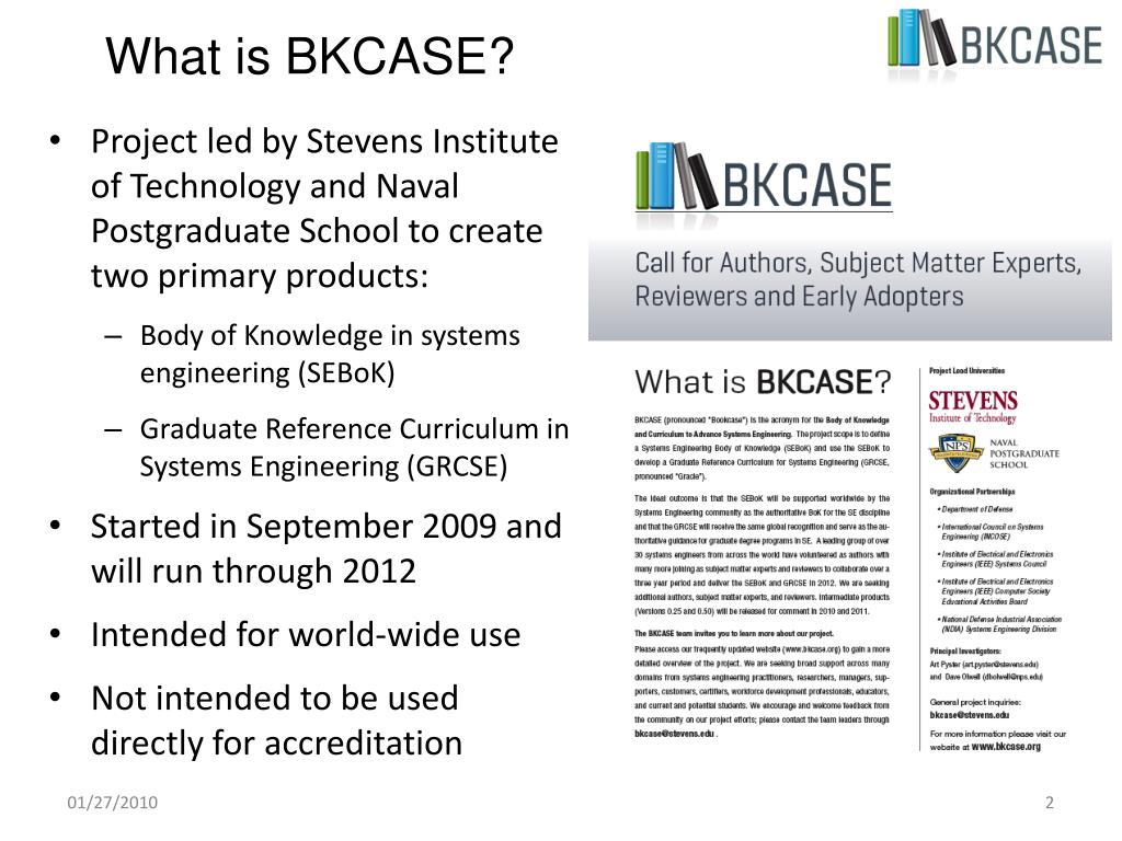 What is BKCASE?