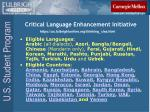critical language enhancement initiative14