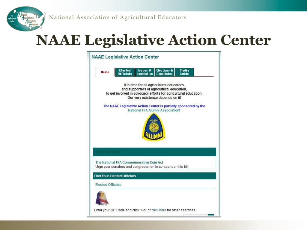 NAAE Legislative Action Center