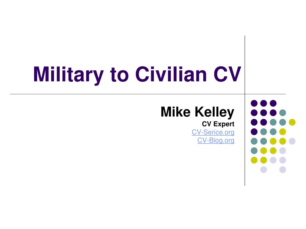 military to civilian cv l.