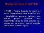 medida provis ria n 351 2007